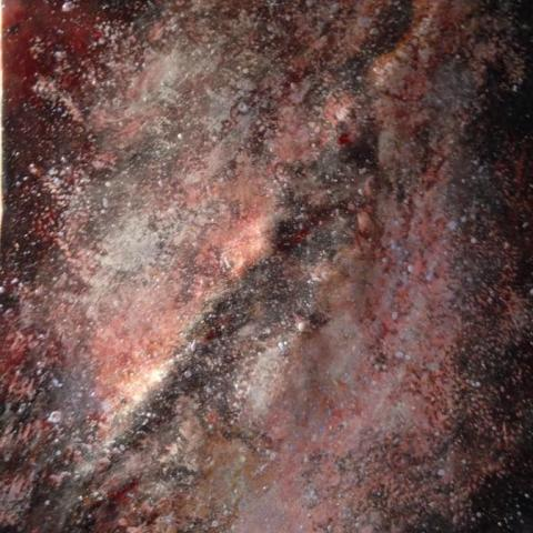 Milky Way(metal painting)