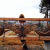 Wings of the West Wind (bench)
