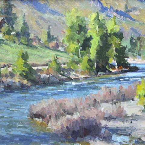 Methow River at Carlton