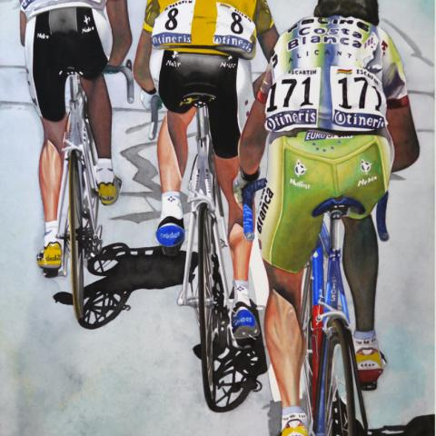 Riis, Ullrich, Escartin - watercolor/paper, 18x27