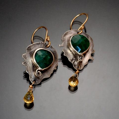 Emeralds and Citrines