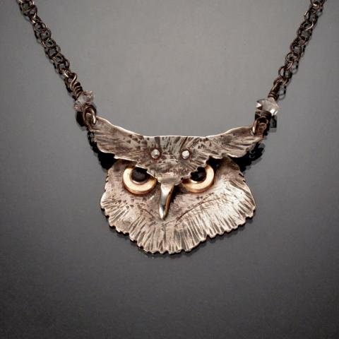 Owl from the Metal Menagerie Series