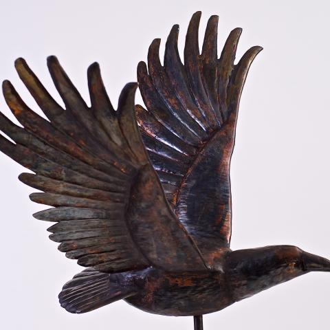Raven Weathervane