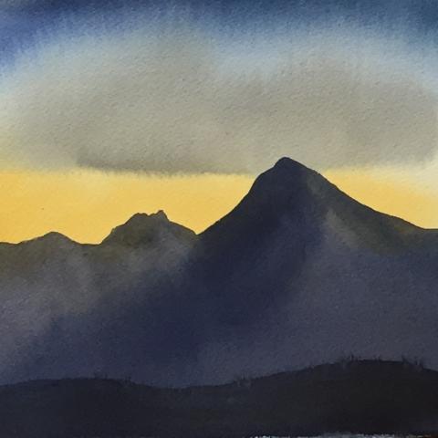 Dawn At Devils Pass 2019 Plein Air