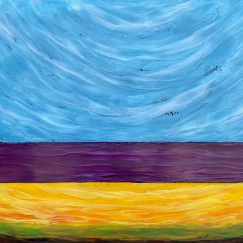 Wind Gathering 24 x 36