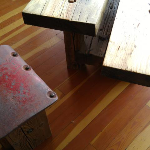 Table and Seat detail