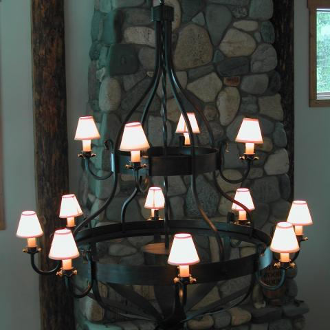 Double Layer Chandelier