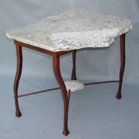 Remnant Granite End Table