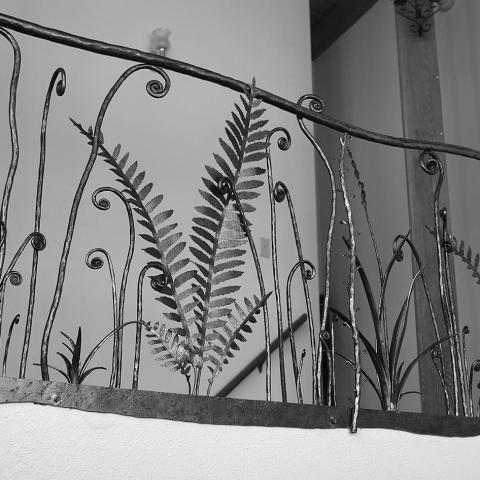 Fiddle Head  Fern Railing