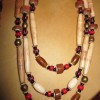 Bone Bead Necklace