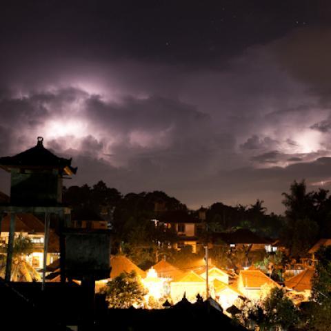 Storm over Ubud, Bali, Indonesia (16