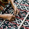 ikat weaving, Roti, Indonesia