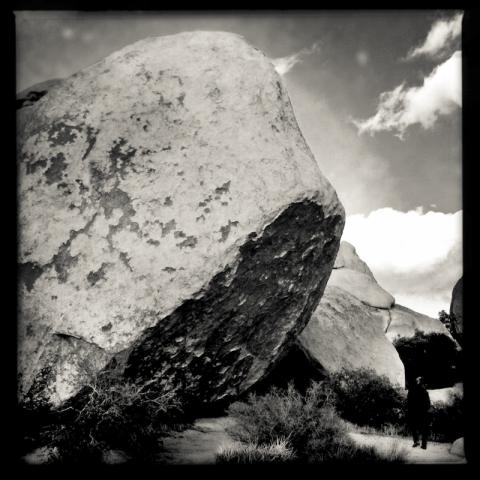 big boulders make small men