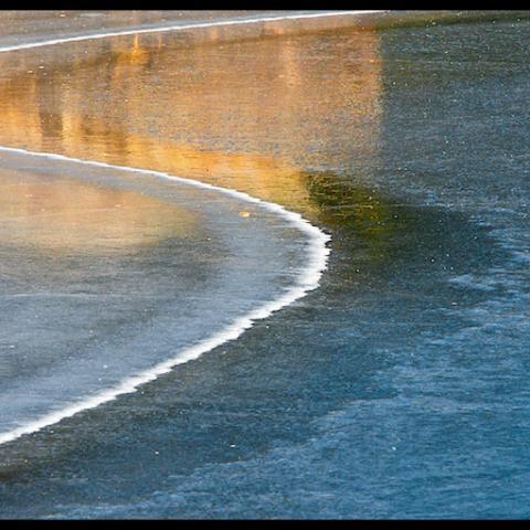 Icy Edge - Chewuch River, WA