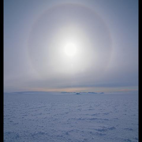 Glacial Sun - Spitzbergen, Norway
