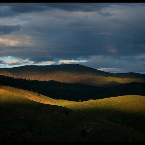 Afternoon Light - Methow Valley, WA