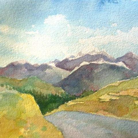 Favorite Mountian View