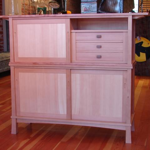 VG pine and fir sideboard