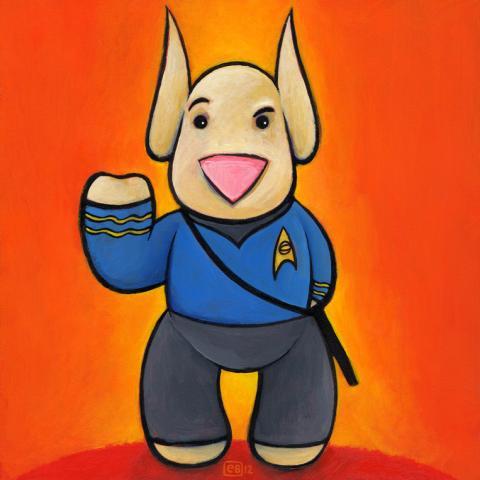 Star Trek (Spock) Sleepdog