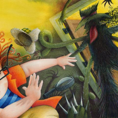 Octavius Bloom: Monster!