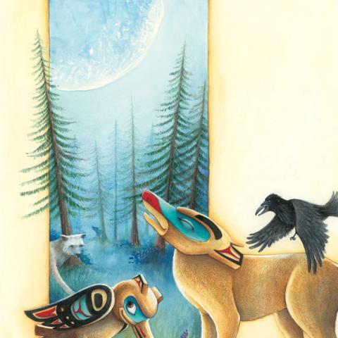 Totem Tale: Wolf/Raven