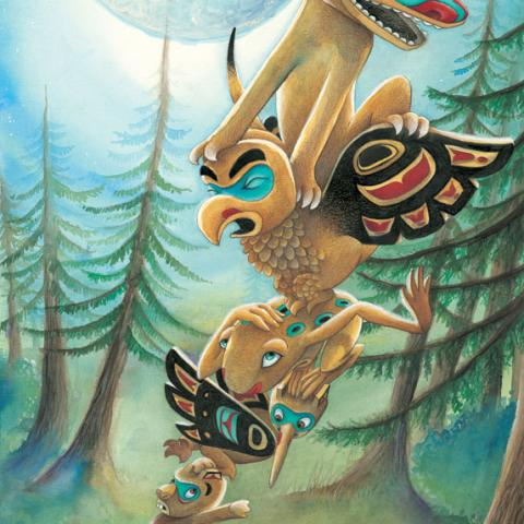 Totem Tale: Wolf on Top