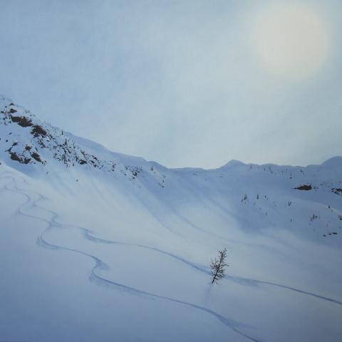 Alpine Turns, Prints available
